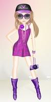 Summer violet party