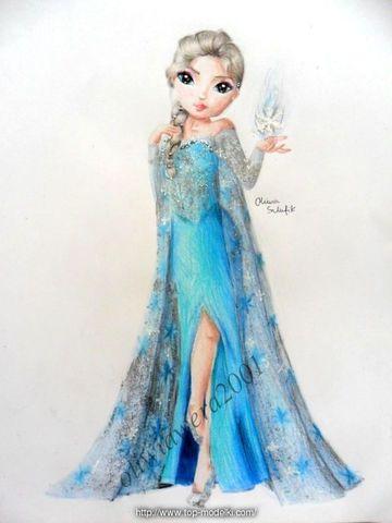 Elsa Z Krainy Lodu Oficjalny Blog Topmodel