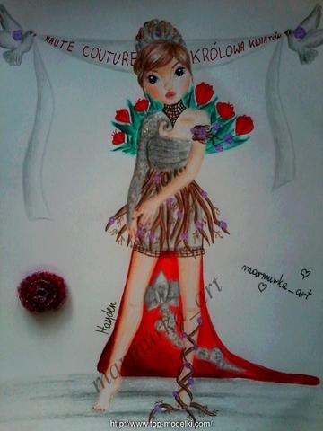 Haute Couture-Królowa Kwiatów