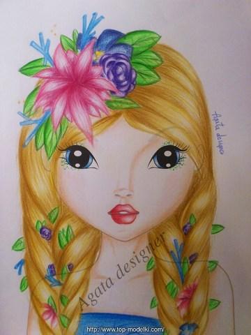 Kwiatowa nimfa